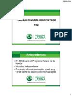 01 Generalidades TCU
