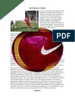 Historia del Futbol, y sus reglas