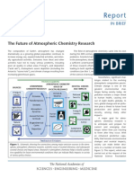 The Future of Atmospheric Chemistry Research