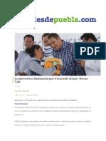 24-08-2016 DesdePuebla.com - La Innovación Es Fundamental Para El Desarrollo Del País; Moreno Valle