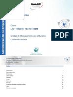 Unidad 2. Microeconomia en el turismo. Contenido nuclear.pdf