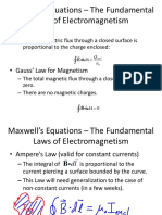 Maxwell's Equation Lecture23 Slides