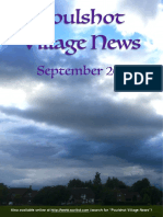 Poulshot Village News - September 2016