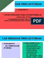 (3) LAS MEDIDAS PRECAUTORIAS (1) (1)