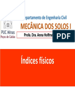 Índices Físicos e Estados Do Solo