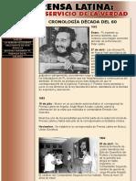 Prensa Latina - Cronologia Años 60