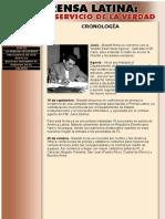 Prensa Latina - Cronologia Años 50