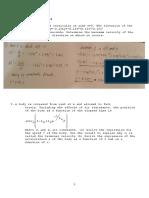 Dynamics of Rigid Bodies (Problem Set)