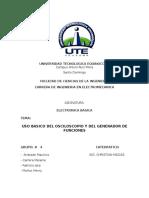 Informe 1 (Osciloscopio)