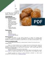 Reteta - Lokoumades (Honey Balls)