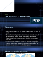 The Natural Topography