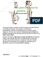 10 Ejercicios Para Mejorar La Postura