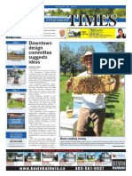 August 26, 2016 Strathmore Times