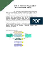 Identificación de Peligros Evaluación y Control de Riesgos