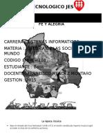 RESUMEN HISTORIA DE LAS SOCIEDADES