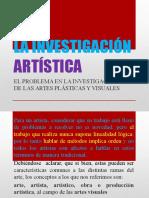 La Investigación Artística