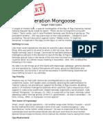 operation mongoose