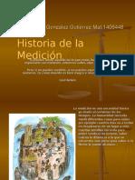 Historia de la Medición