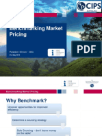 Benchmarking Market Pricing