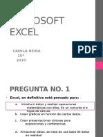 Camila Preguntas de Excel