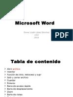 Microsoft Word Diana