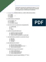 Cuestionario de Refuerzo 1,2,3,4 -2P