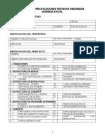 Especificaciones Tecnicas Vivienda Social (1)