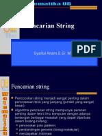 Pencarian String