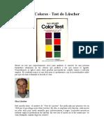 Test de los Colores - Test de Lscher