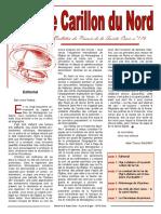 Bulletin Carillon Du Nord 1603 176