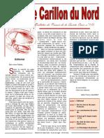 Bulletin Carillon Du Nord 1601 175