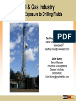 Worker Exposure to Drilling Fluids