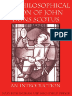 The Philosophical Vision of Duns Scotus. an Introduction.
