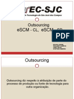 Modelos para Outsourcing de TI - eSCM CL e eSCM SP
