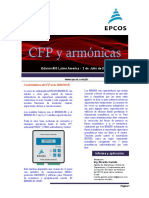 CFP y Armónicas Nro 03-440V Orientativo Pata Programacion Del Controlador