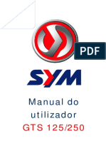 1045 Manual Utilizador GTS125 250 300