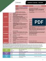Academic Calendar (Fall-2016)