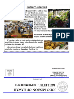 Jodo Mission of Hawaii Bulletin - September 2016