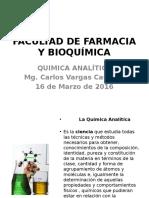 (1) Clase Importancia de La Quimica Analitica Marzo 2016 Teória