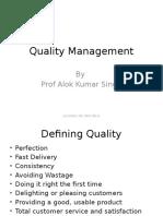 Session 17,18, Quality Management