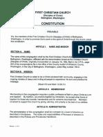 FCC Constitution