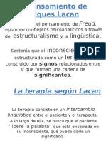 El Pensamiento de Jacques Lacan