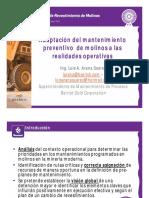 9. Ing. Luis Arana - Adaptación del mantenimiento preventivo de molinos a las realidades operativas 2.pdf