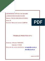 243595784 Maggio a y G Foos TP 2 de PE Doc Psicología Educacional