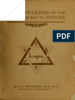 A Knowledge of the Self the Key to Power 1905