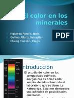 El Color en Los Minerales