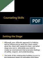 Counseling Skills