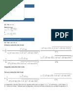 Formulas Para Resolver Ec Polinomiales