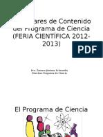 Estándares Investigación y Feria Científica