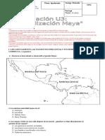 Evalaucion u3 Mayas